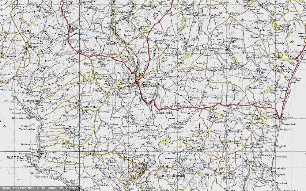 Old Map of Southville, 1946 in 1946