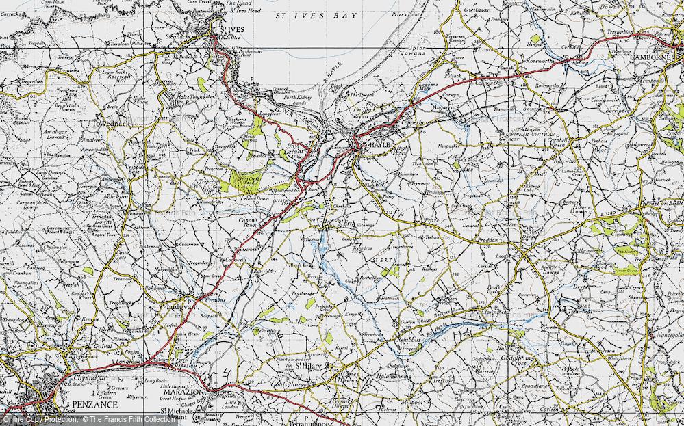 Old Map of St Erth, 1946 in 1946
