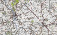 Map of Stanbridge, 1946