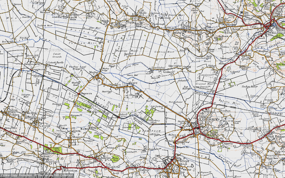 Old Map of Stileway, 1946 in 1946