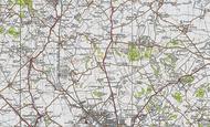 Map of Streatley, 1946