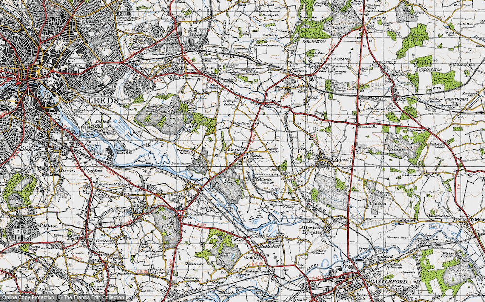 Old Map of Swillington, 1947 in 1947