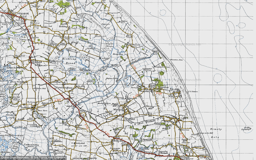 The Norfolk Broads, 1945