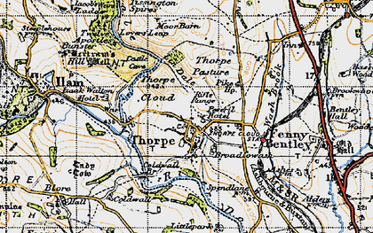 Old map of Lin Dale in 1946