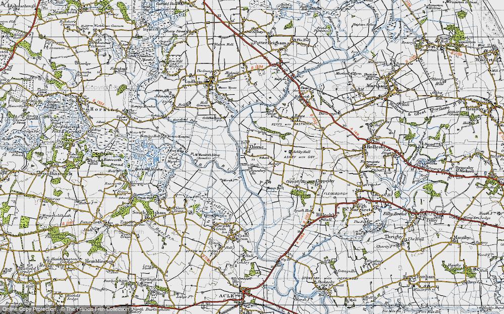 Thurne, 1945