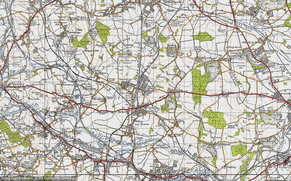 Thurnscoe East, 1947