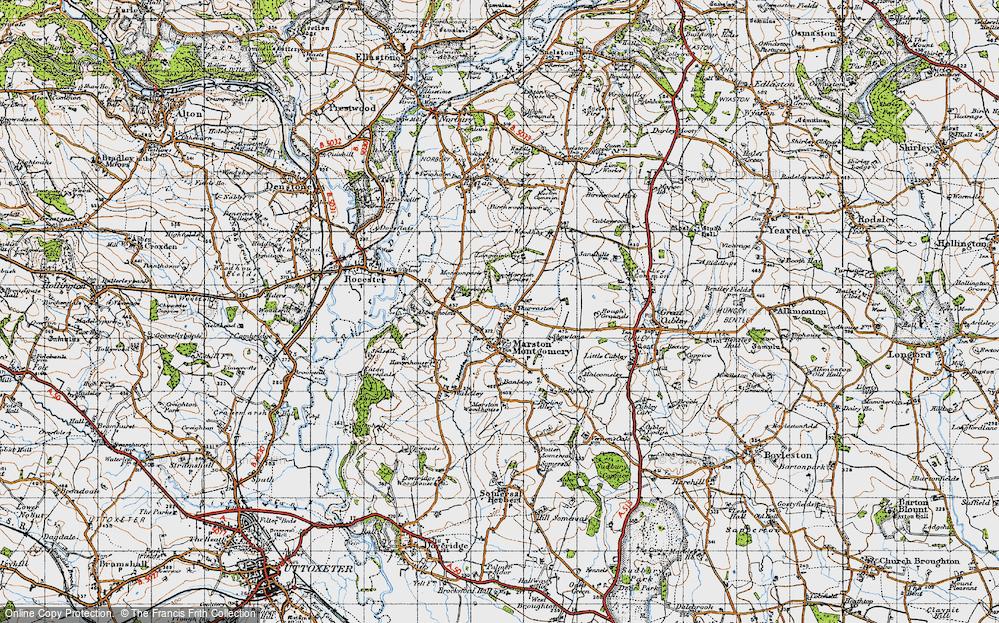 Thurvaston, 1946