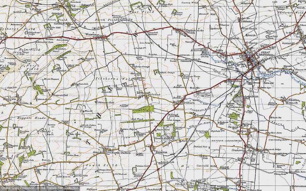 Tibthorpe, 1947
