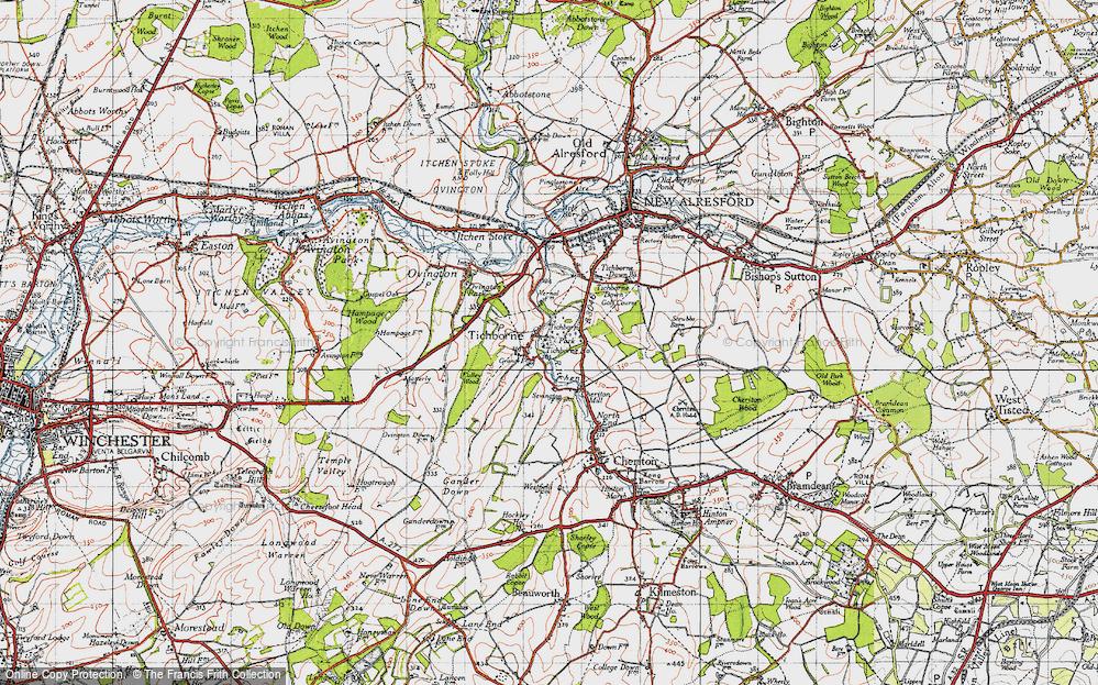 Tichborne, 1945