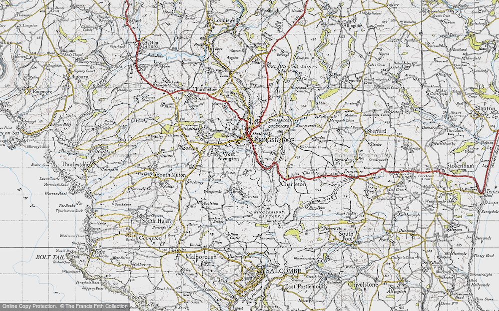 Old Map of Ticket Wood, 1946 in 1946
