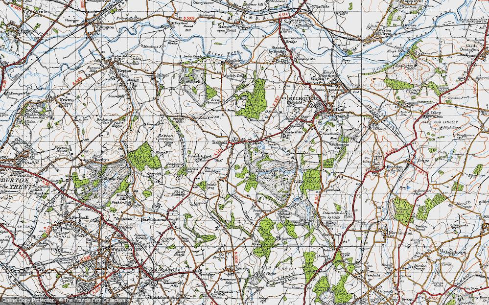 Ticknall, 1946