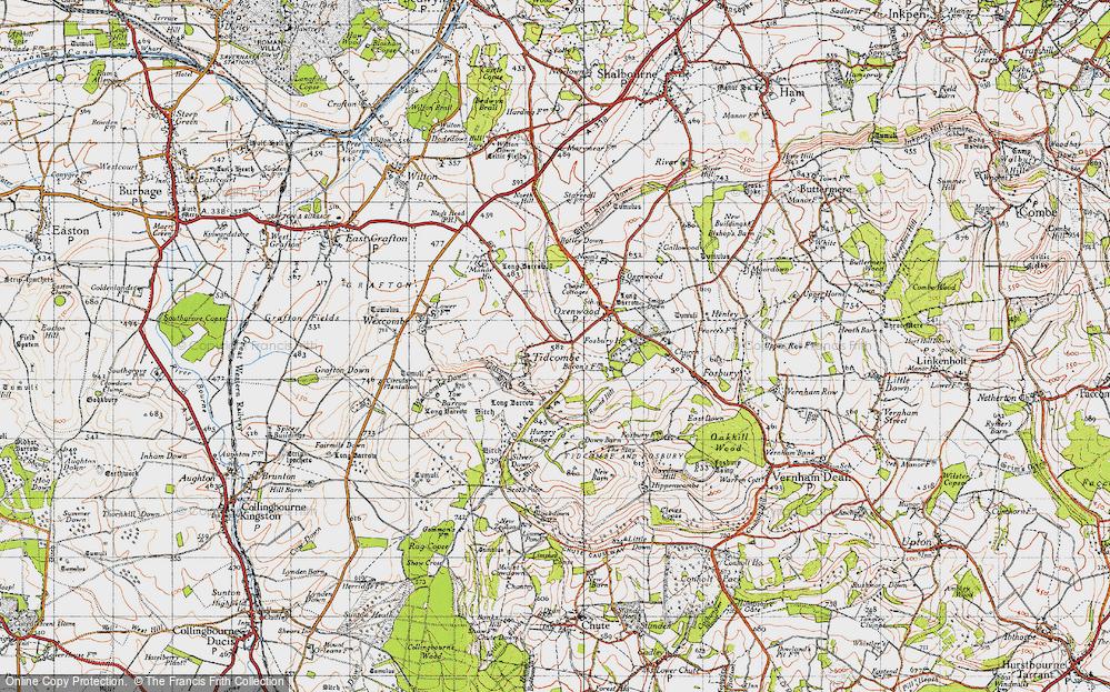 Tidcombe, 1940