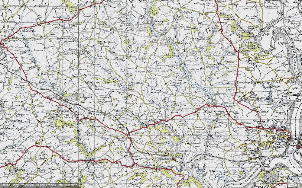 Tideford Cross, 1946