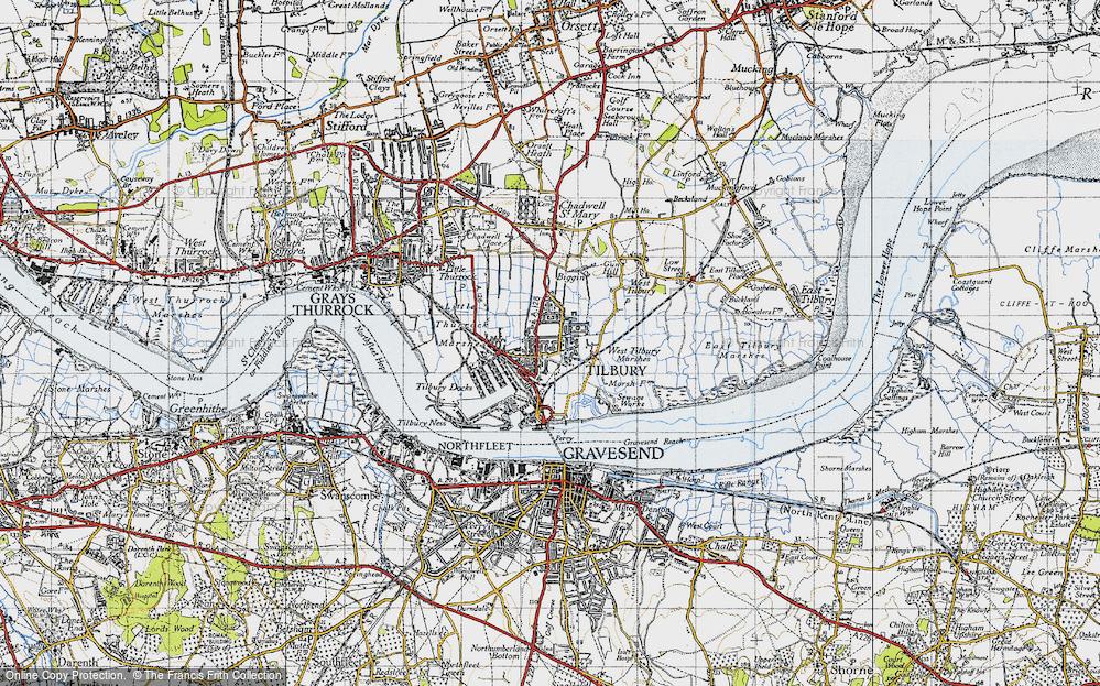 Tilbury, 1946