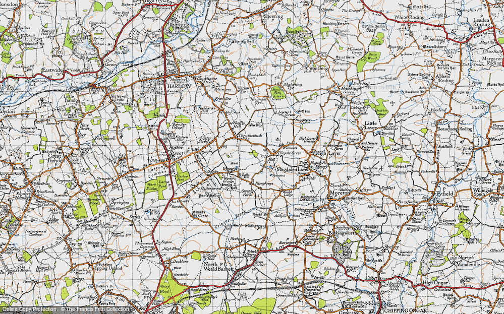 Old Map of Tilegate Green, 1946 in 1946