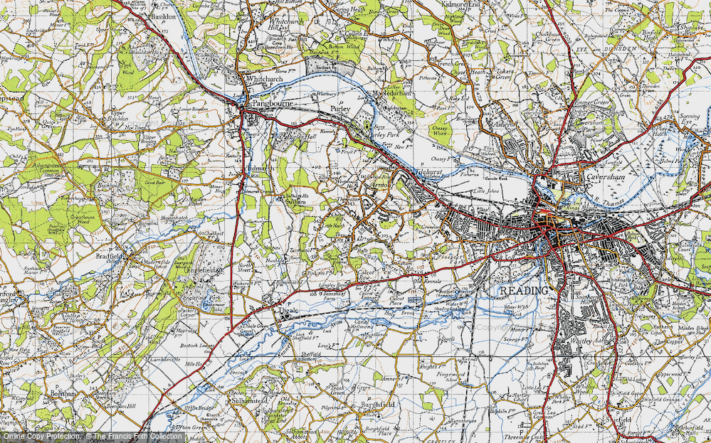 Tilehurst, 1945