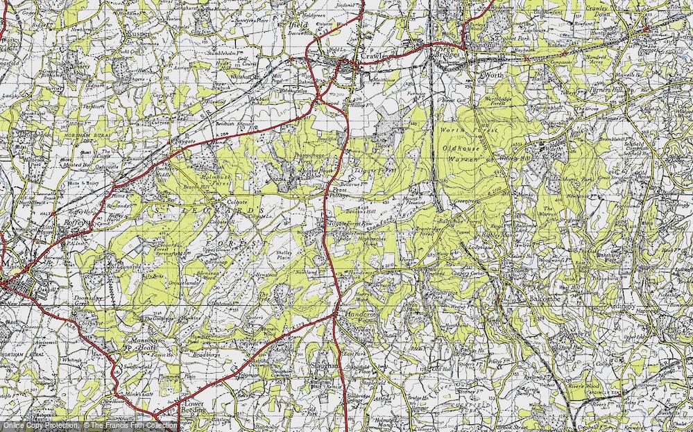 Tilgate Forest Row, 1940
