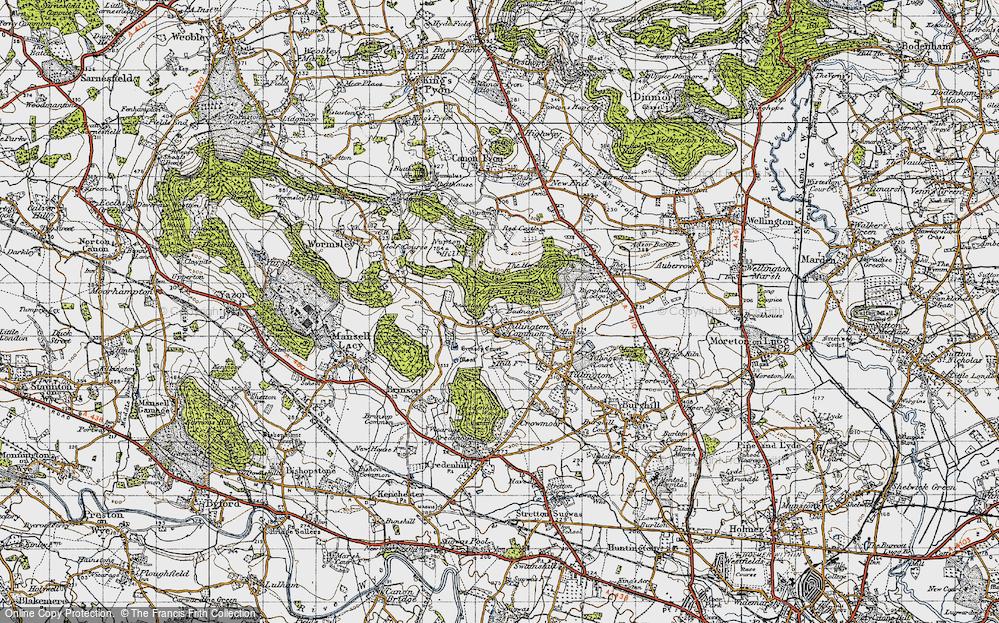 Tillington Common, 1947
