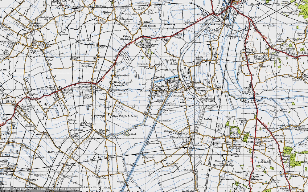 Tilney cum Islington, 1946