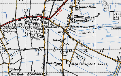 Old map of Aylmer Hall in 1946