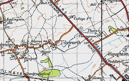 Old map of Tilsworth in 1946