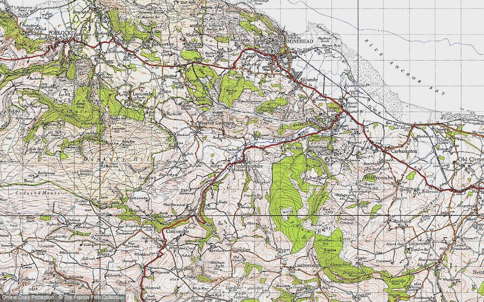 Timberscombe, 1946