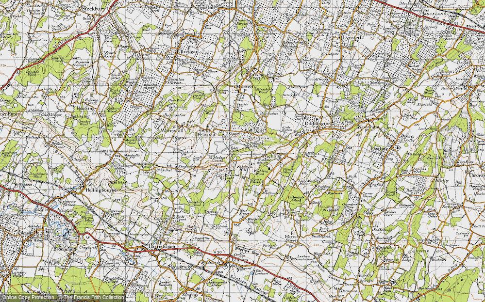 Timbold Hill, 1946