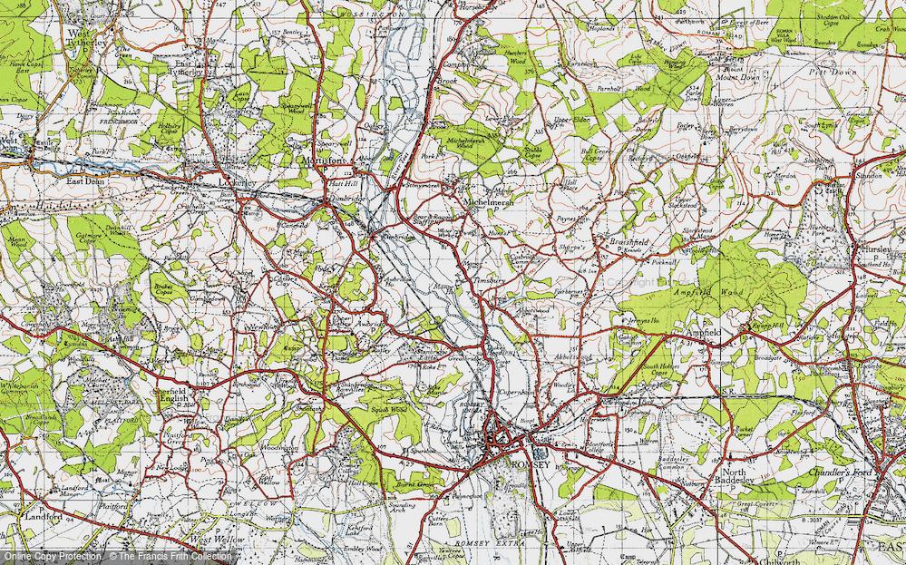 Timsbury, 1945