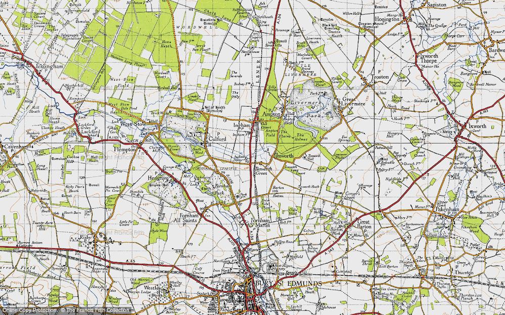 Timworth Green, 1946
