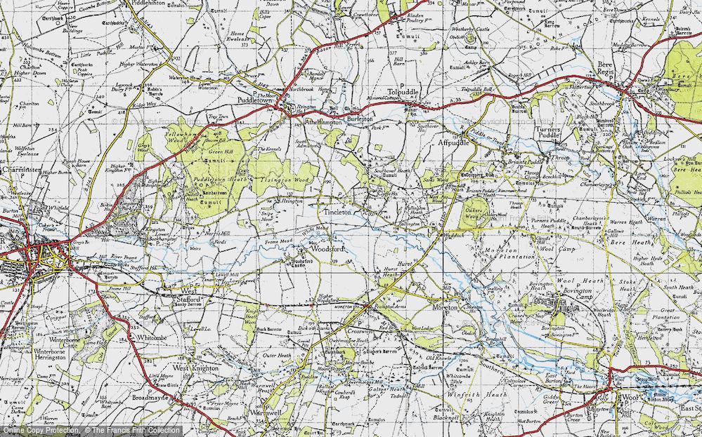 Tincleton, 1945