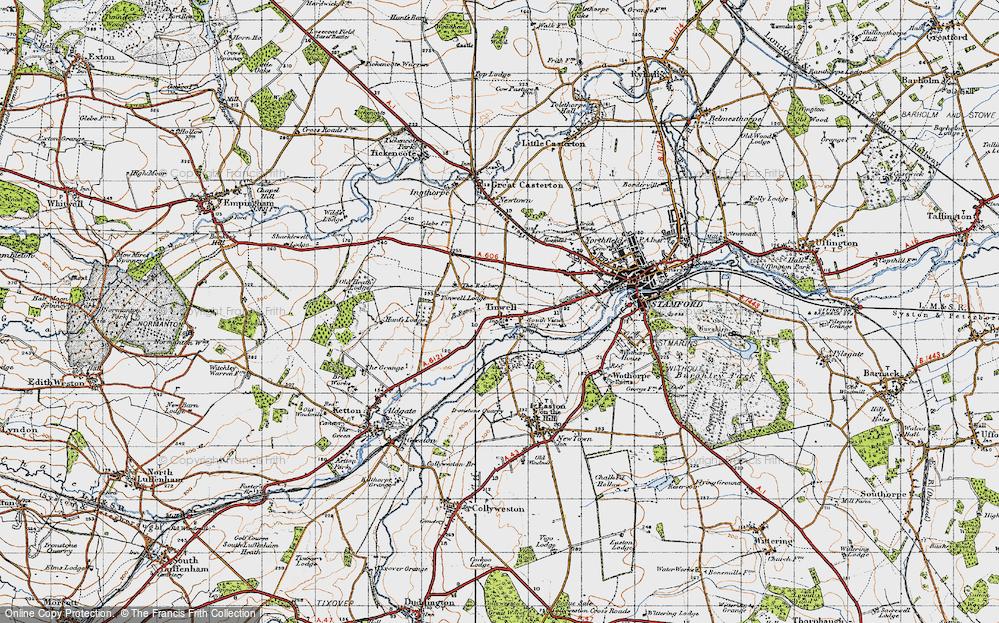 Tinwell, 1946