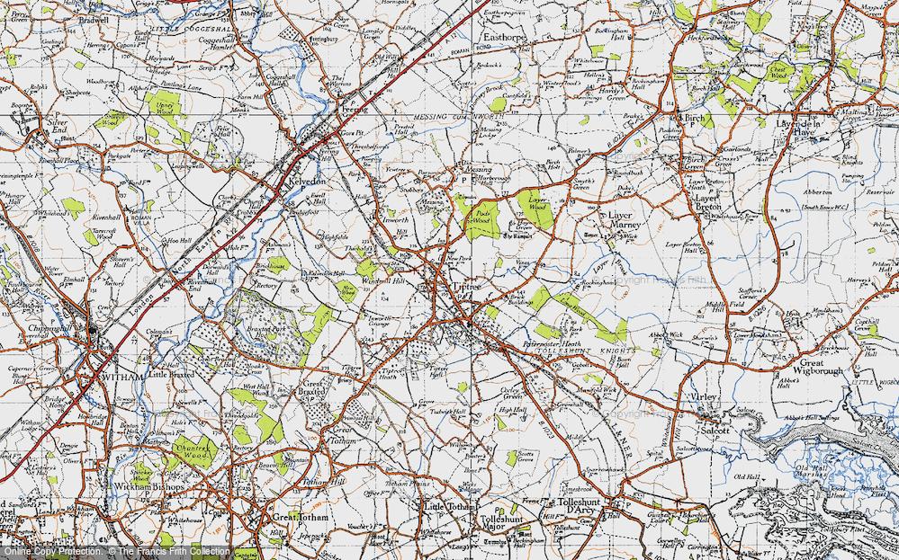 Tiptree, 1945
