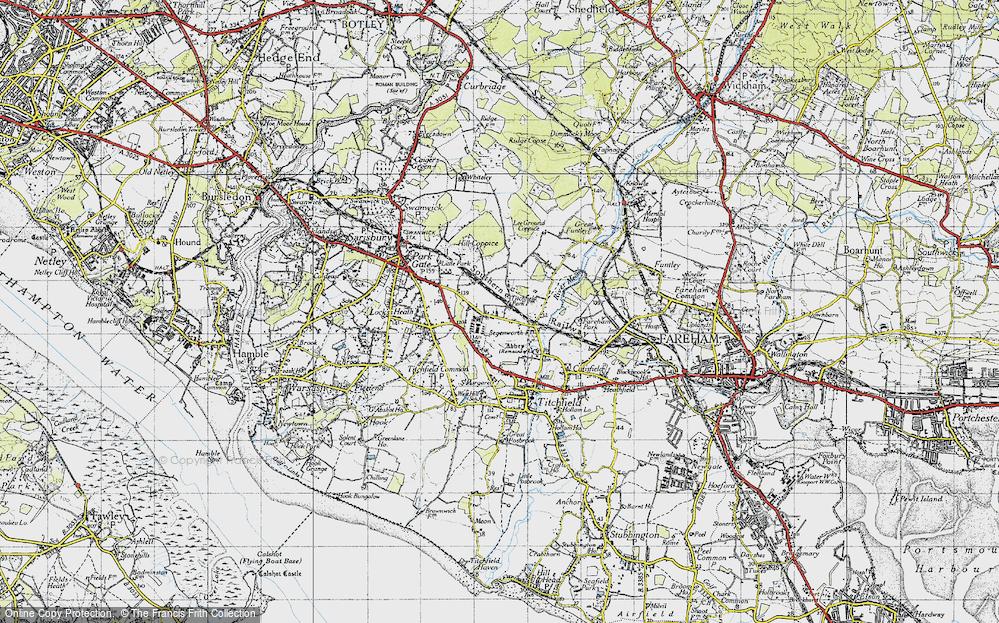 Titchfield Park, 1945