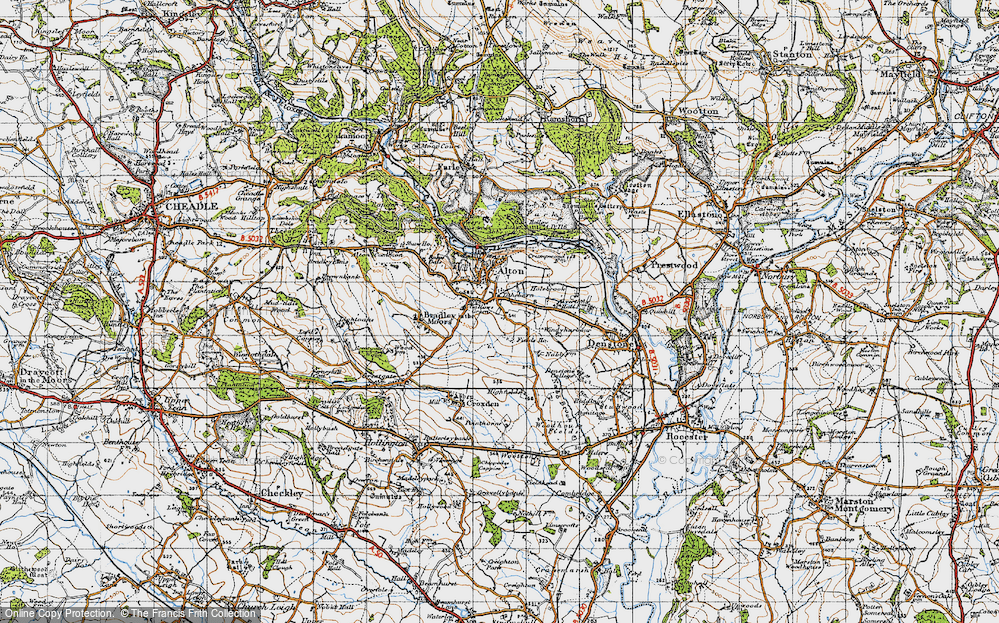Old Map of Tithebarn, 1946 in 1946