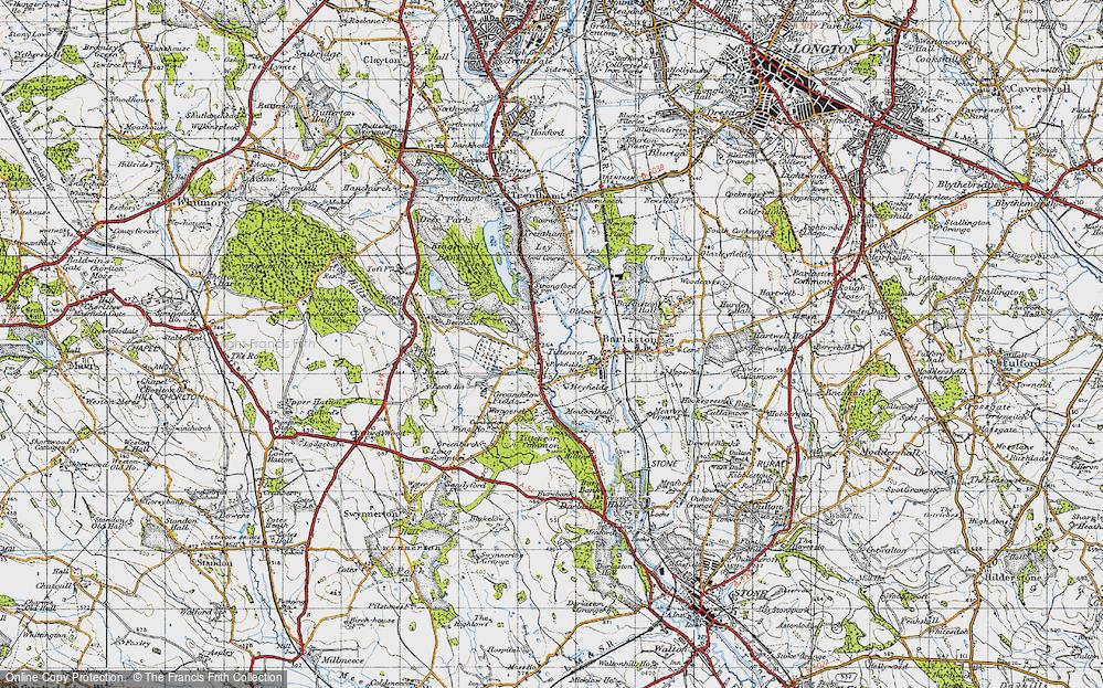 Tittensor, 1946