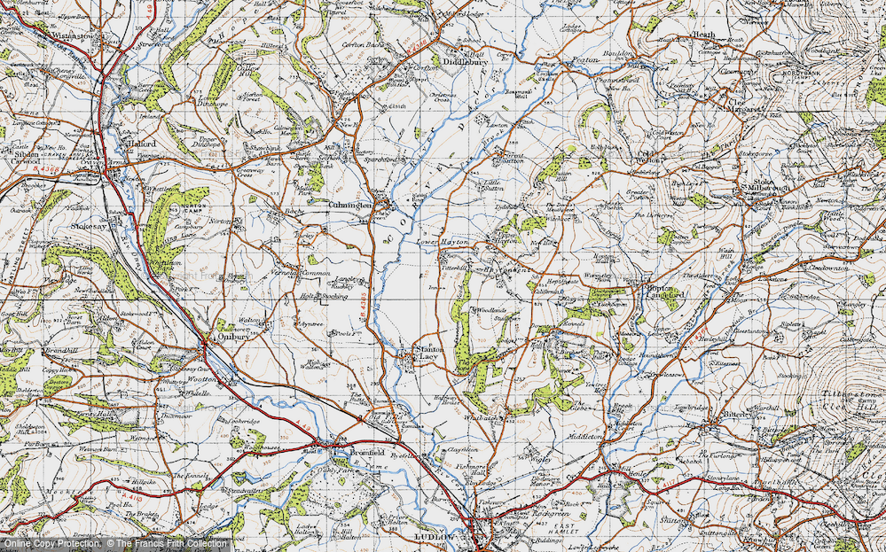 Old Map of Titterhill, 1947 in 1947
