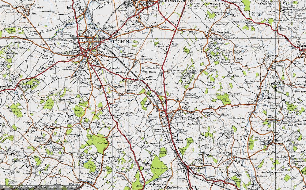 Todd's Green, 1946