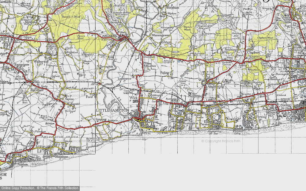 Toddington, 1945