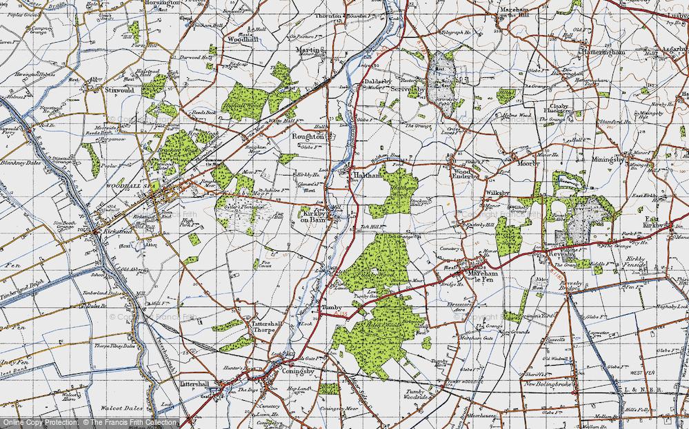 Toft Hill, 1946