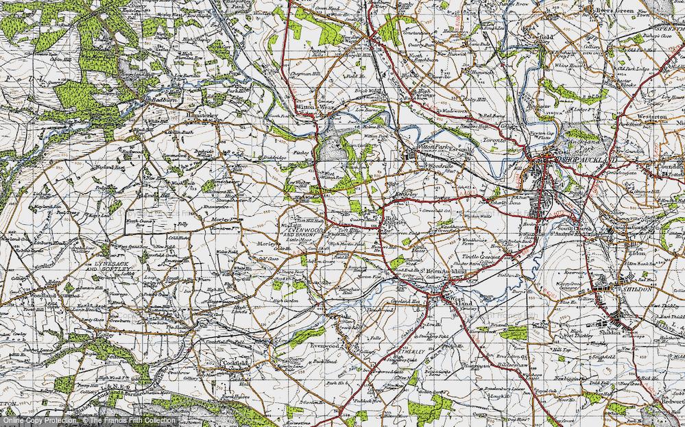Toft Hill, 1947