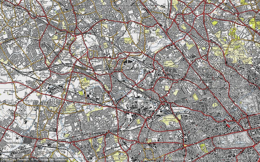 Tokyngton, 1945