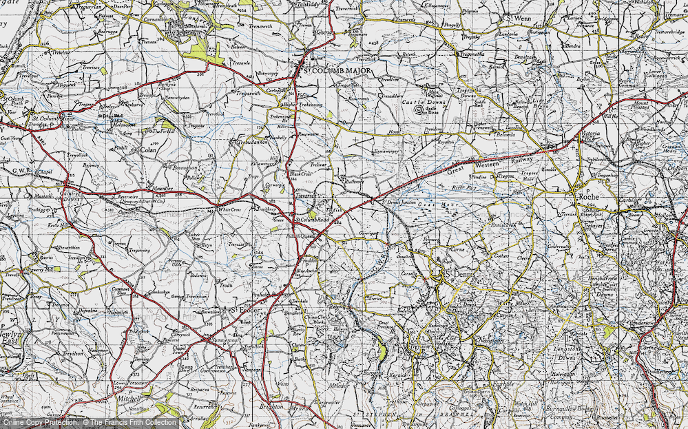 Old Map of Toldish, 1946 in 1946