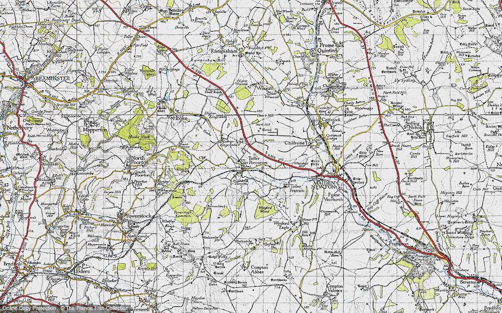 Toller Porcorum, 1945
