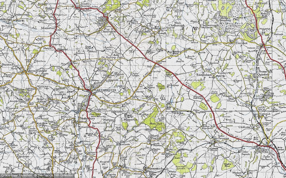 Toller Whelme, 1945