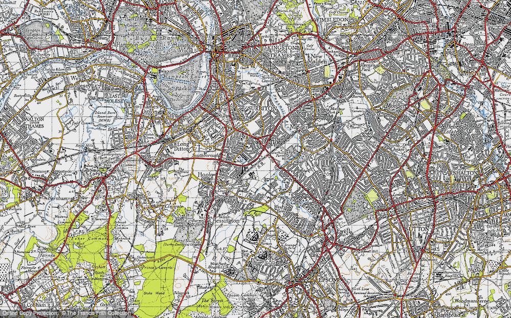 Tolworth, 1945