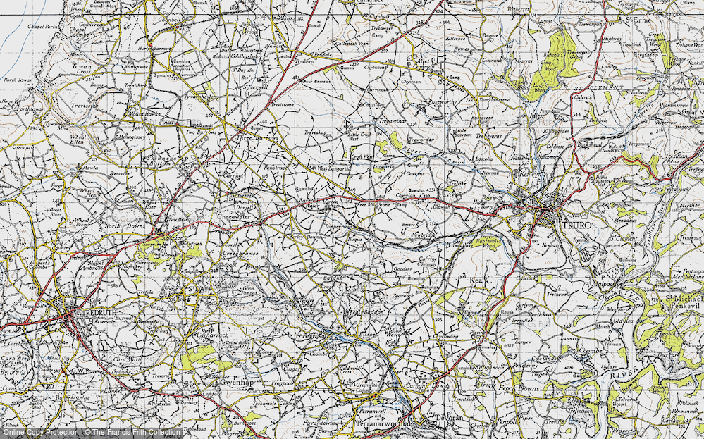 Old Map of Tomperrow, 1946 in 1946