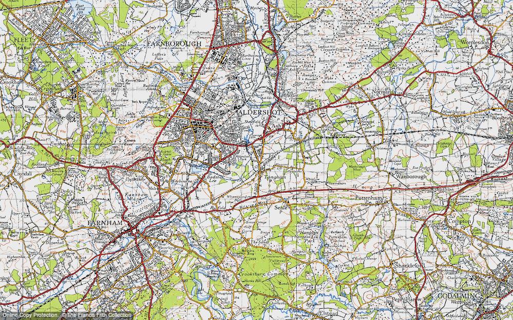 Tongham, 1940
