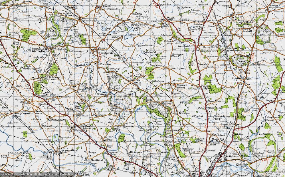 Walford Heath, 1947