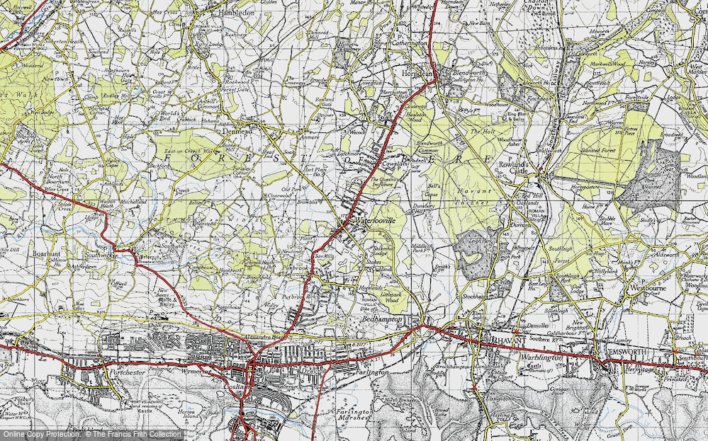 Old Maps of Waterlooville Francis Frith