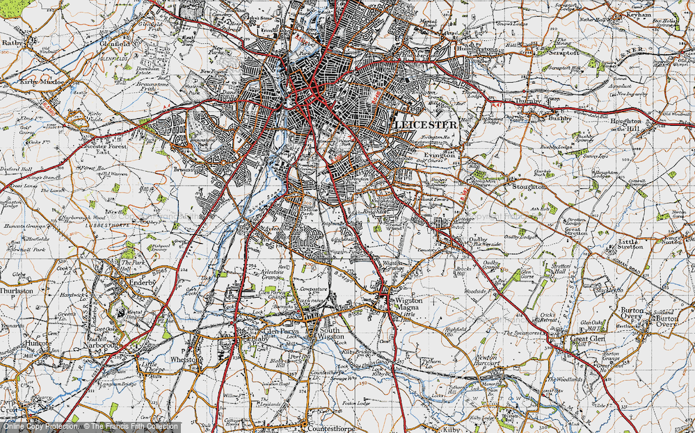 Old Map of West Knighton, 1946 in 1946